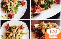 Фото рецепта: «Салат из свежих овощей с курицей»