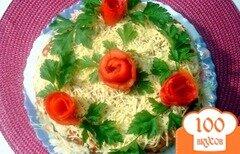 Фото рецепта: «Закусочный пирог из капусты и грибов»