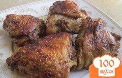 Фото рецепта: «Курица с корочкой в мультиварке»