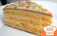"""Фото рецепта: «Торт """"Настенька""""»"""