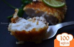 Фото рецепта: «Акулье мясо в сухарях»