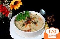 Фото рецепта: «Грибной суп с сырочками»