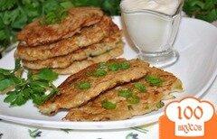 Фото рецепта: «Оладьи из картофеля с кольраби»