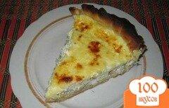 Фото рецепта: «Открытый пирог с курицей»