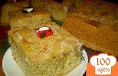 Фото рецепта: «Пирог с айвой»