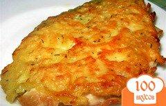 Фото рецепта: «Куриные отбивные с сыром»