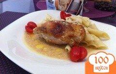 Фото рецепта: «Куриные бедрышки в маринаде от каперсов»