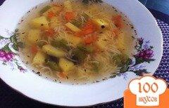 Фото рецепта: «Суп из ребрышек с вермишелью»