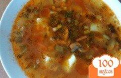 Фото рецепта: «Картофельный суп с грибами»