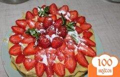 Фото рецепта: «Медовый торт на сковороде»