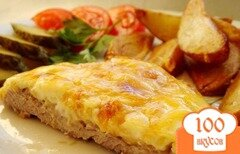 Фото рецепта: «Мясо по-французски из телятины»