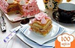 """Фото рецепта: «Торт с безе """"Мечта""""»"""