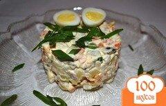 """Фото рецепта: «Салат """"Оливье"""" по-домашнему»"""