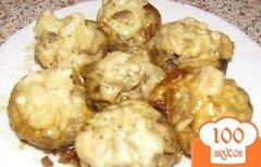 Фото рецепта: «Фаршированные грибы в мультиварке»