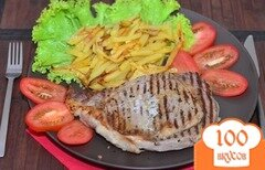 Фото рецепта: «Мясо на сковороде-гриль»