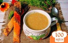 Фото рецепта: «Гороховый суп пюре с копчёной колбасой»