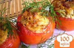 Фото рецепта: «Фаршированные помидоры запеченные в духовке»