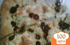 Фото рецепта: «Пицца с розмарином и изюмом»