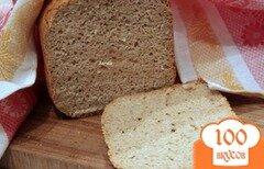 Фото рецепта: «Смешанный хлеб с рисовыми хлопьями»