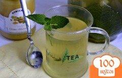 Фото рецепта: «Мятный чай с имбирем и медом»