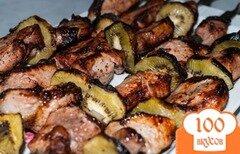 Фото рецепта: «Шашлык из телятины с киви»