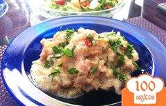 Фото рецепта: «Фрикасе из куриного филе с лесными грибами»