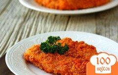 Фото рецепта: «Курица в панировке из крекеров»