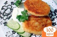 Фото рецепта: «Картофельные зразы с капустой»