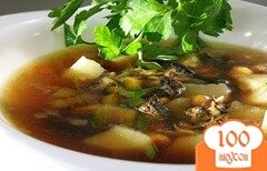 Фото рецепта: «Суп с грибами в мультиварке»