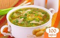 Фото рецепта: «Куриный суп с чечевицей»