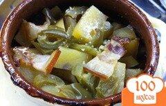 Фото рецепта: «Жаркое из свинины с грибами в горшочках»