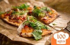 Фото рецепта: «Домашняя пицца за 15 минут»