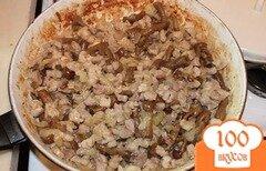 Фото рецепта: «Жареное мясо с грибами»