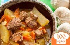 Фото рецепта: «Рагу из свинины с картошкой»