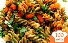 Фото рецепта: «Макароны с морковью и луком»