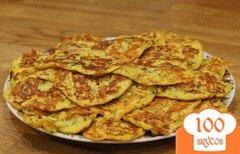 Фото рецепта: «Блинчики из кабачков с сыром»