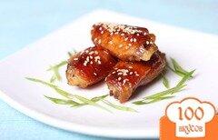 Фото рецепта: «Имбирные крылышки»