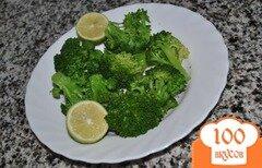 Фото рецепта: «Брокколи с лимонным соком»