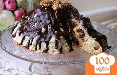 """Фото рецепта: «Торт """"Везувий""""»"""