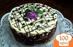 Фото рецепта: «Торт «Черничная поляна»»