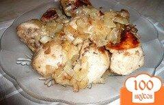 Фото рецепта: «Голени с луком в мультиварке»