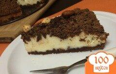 Фото рецепта: «Творожно-шоколадный торт»