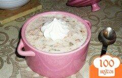 Фото рецепта: «Йогуртовый завтрак с фейхоа и овсяными хлопьями»