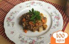 Фото рецепта: «Нежная телятина с тыквой»
