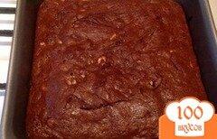 Фото рецепта: «Шоколадный брауни с арахисом»