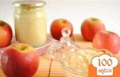 Фото рецепта: «Яблочное пюре для грудничка»