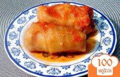 Фото рецепта: «Голубцы в томатном соусе»