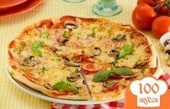 Фото рецепта: «Тесто для пиццы за 5 минут»
