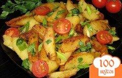 Фото рецепта: «Печеная картошка в мультиварке»