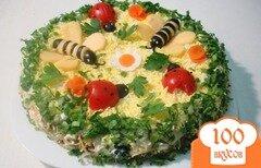 Фото рецепта: «Салат из сердца»